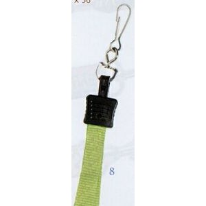 "Lanyard w/ Swivel J-Hook (3/8""x36"")"