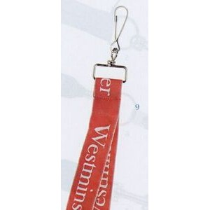 "Lanyard w/ Large Swivel J-Hook #3 (3/4""x36"" - Woven)"