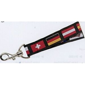 "Lanyard w/ Swivel Press-Down Clamp (3/4""x36"")"