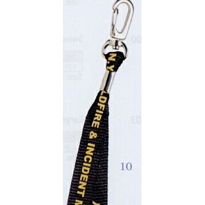 "Lanyard w/ Heavy Duty J-Hook (3/8""x36"")"