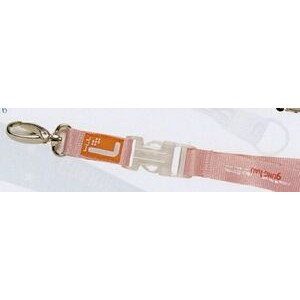 "Lanyard w/ Heavy Duty J-Hook & Snap Buckle (3/4""x42)"